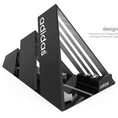 adidas stand by Scarpia , via Behance *Studio Displays, Inc. does not own this design.*
