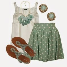 Spring Outfits Peppermint Patty