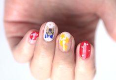 Nail Art: Christmas Kitten Nails 2