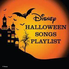 Disney Halloween Song Playlist