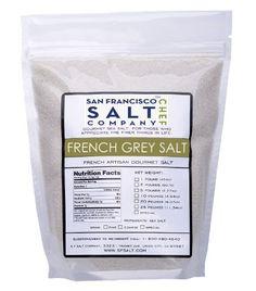 French Grey Salt (5lb Bag Fine Grain) - http://spicegrinder.biz/french-grey-salt-5lb-bag-fine-grain/
