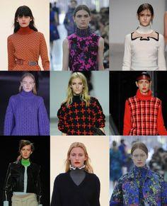 Roll necks. London Fashion Week trends autumn/winter 2012