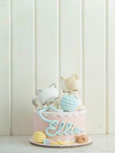 Cottontail Kittens | Cottontail Cake Studio | Sugar Art & Pastries