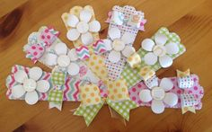www.craftworkcards.co.uk Happy Days paper pack and Paper Bows