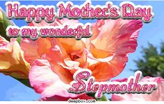 mother's day quotes for stepmothers | Happy Mother's Day To My Wonderful Stepmother Myspace Comment
