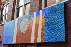 Unimelb Outdoor Gallery First Exhibition - by Sam Harrison Vibrant, Culture, Night, Gallery, Creative, Artwork, Painting, Outdoor, Outdoors