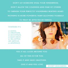 zooey deschanel #quote  I love Zooey!!
