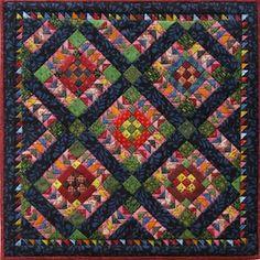 Shop for Miniature Quilts from Kathie Ratcliffe's Nine Patch Studio