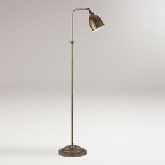 Rust Pharmacy Floor Lamp | World Market $139.99