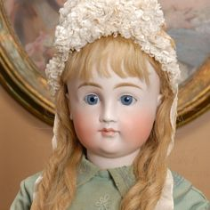 "30"" Early Closed Mouth Kestner Child Doll"