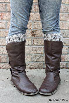 Gabrielle Crochet Boot Cuffs {FREE PATTERN}
