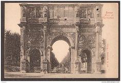 Arco di Costantino con carro di buoi Anno: (?)