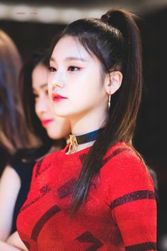 Yeji #kpop #kdrama #bts #exo #kpoparmy Long Hair Ponytail, Two Ponytails, Braids For Short Hair, Ponytail Hairstyles, Short Hair Styles, South Korean Girls, Korean Girl Groups, Seohyun, Korean Celebrities
