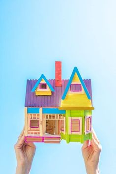 Popsicle Stick Crafts House, Popsicle Sticks, Craft Stick Crafts, Diy Crafts For Kids, Craft Ideas, Yarn Crafts, Diy Ideas, Paper Crafts, Party Ideas