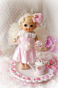 Antique Bisque Flapper Doll Bisque Doll Bisque by treasured2