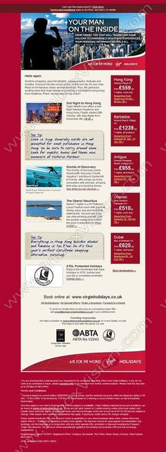 Company:    Virgin Holidays Ltd   Subject:     Bring on Hong Kong             INBOXVISION is a global database and email gallery of 1.5 million B2C and B2B promotional emails and newsletter templates, providing email design ideas and email marketing intelligence http://www.inboxvision.com/blog