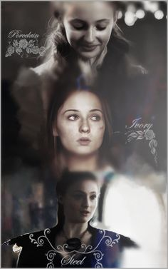 "I want this Sansa Stark quote tattooed on me! ""My skin has turned to Porcelain, to Ivory, to Steel…"""