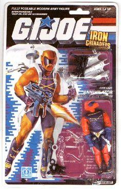 Annihilator (v1) G.I. Joe Action Figure - YoJoe Archive