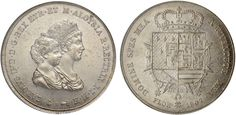 NumisBids: Nomisma Spa Auction 50, Lot 94 : FIRENZE Carlo Ludovico (1803-1807) Dena 1807 – Pag. 27; Mont. 236...