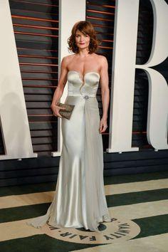 Helena Christensen attends the 2016 Vanity Fair Oscar Party at the Wallis Annenberg Center for the P... - Billy Farrell/BFA/REX/Shutterstock/Rex USA
