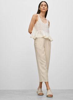 Love the styling for this Wilfred Alleray blouse.