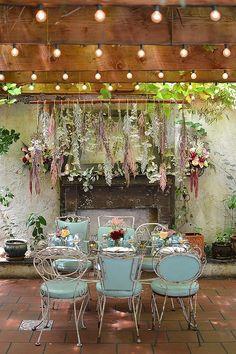 indoor garden wedding ideas http://www.weddingchicks.com/2013/10/15/brooklyn-garden-wedding/