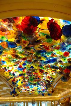 399   Bellagio ceiling - Las Vegas, NV