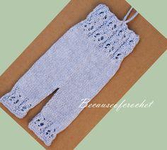 Knitting PATTERN Newborn Baby Romper. Size 0 by becauseofcrochet