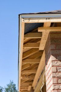 Between weather changes and pesky animals, a soffit is usually the first part of your roof to bear damage. Check out how to repair a rotted soffit easily. Woodworking Hand Saws, Woodworking Power Tools, Woodworking Plans, Woodworking Machinery, Roof Soffits, Ridge Vent, Diy Roofing, Roof Vents, Best House Plans