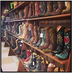 Boot heaven!