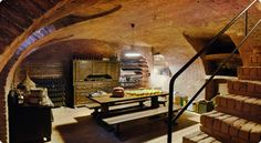 Dream Root Cellar. Well lit, solid-appearing construction, and moderately spacious.