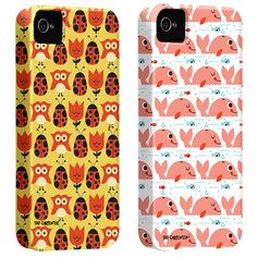 Tad Carpenter is an illustrator and designer currently living in Kansas City, Missouri. He partnered with Case Mate to design these iphone cases in his signature whimsical designs and vibrant colors.
