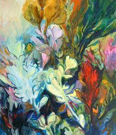 Jenny Parsons, paradise I Abstract Landscape Painting, Seascape Paintings, Landscape Paintings, Abstract Art, Flower Paintings, Art Paintings, South African Artists, Sketch A Day, Blue Art