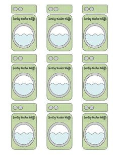 Washer whiffs sample printable
