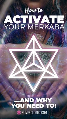 The Merkaba (sometimes seen as Mer Ka Ba or Mer-ka-ba) is the structure of divine light and energy in the human body and every other life form and object in this universe and all others. Rotating and expanding in all directions simultaneously, it perfect Sacred Geometry Meanings, Sacred Geometry Patterns, Sacred Geometry Art, Spirit Science, Divine Light, Life Form, Interstellar, Flower Of Life, Human Body