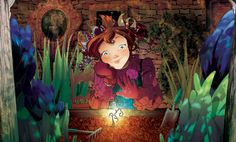 Fairy Oak-Lavender Periwinkle: Daughter of the Night