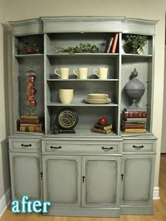 Better After: Im nuts for this hutch!