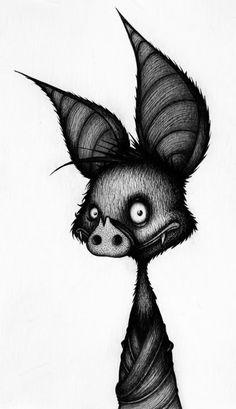 Bat by Sebastien Mesnard