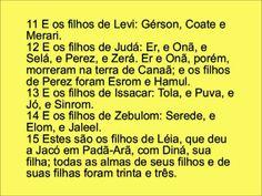Bíblia em dvd Gênesis cap 46