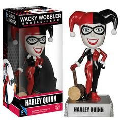 DC Universe Wacky Wobbler Harley Quinn Bobble Head Figure