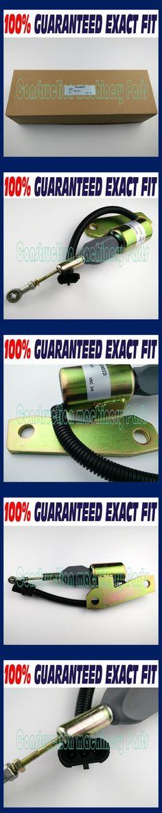START SHUT DOWN SOLENOID 3991625 24V FOR CUMMINS FITS HYUNDAI R225-7 R220-5 SYNCRO