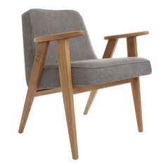 366 easychair in Grey - LOFT collection.