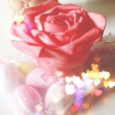 Pink Rose Easter Decoration