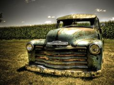 Photo Print for Cash's big boy room - Chevy Truck Photographic Print by Stephen Arens at Art.com