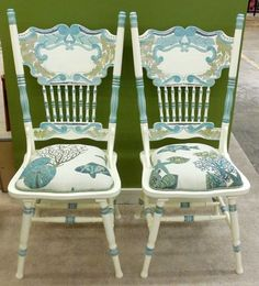 Seaside pressed back chairs