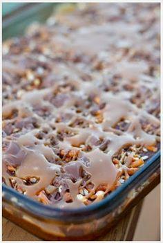 Caramel Pretzel Brownies | best healthy recipes in the world
