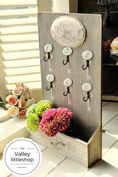 handmade wooden key rack hanger :) from wish .com : https://www.wish.com/c/5709165bcda0fc354859199f