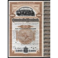 Loan for the Abolition of Grade Crossings of the Commonwealth of Massachusetts