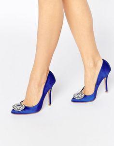 8f7a44261 Carvela Lotty2 Embellished Court Shoes at asos.com