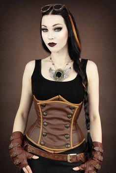 931b166a55 I love this corset style and those gloves are absolutely amazing. Goth  Girls